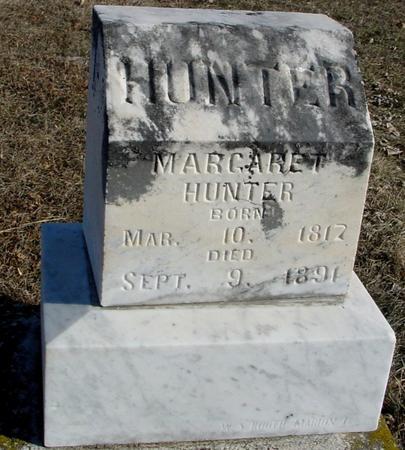 HUNTER, MARGARET - Ida County, Iowa   MARGARET HUNTER