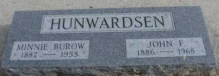 HUNWARDSEN, JOHN F. & MINNIE - Ida County, Iowa | JOHN F. & MINNIE HUNWARDSEN