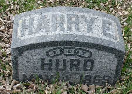 HURD, HARRY E. - Ida County, Iowa | HARRY E. HURD