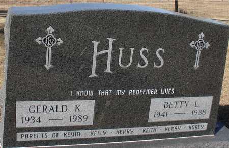 HUSS, GERALD & BETTY L. - Ida County, Iowa | GERALD & BETTY L. HUSS
