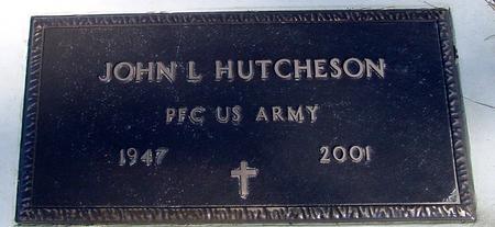 HUTCHESON, JOHN L. - Ida County, Iowa | JOHN L. HUTCHESON
