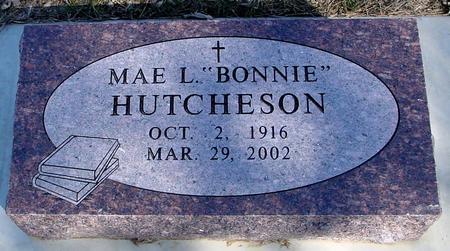 HUTCHESON, MAE L.
