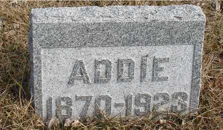 HUTCHINS, ADDIE - Ida County, Iowa | ADDIE HUTCHINS