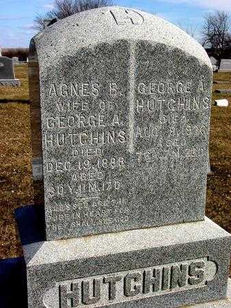 HUTCHINS, GEORGE A. - Ida County, Iowa   GEORGE A. HUTCHINS