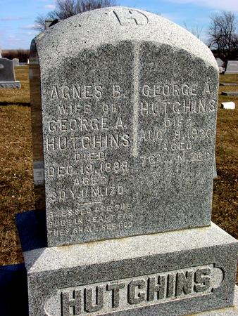 HUTCHINS, GEORGE A. & AGNES - Ida County, Iowa | GEORGE A. & AGNES HUTCHINS