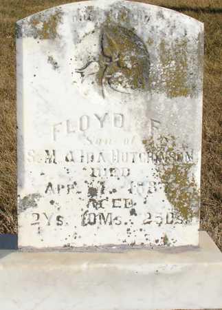 HUTCHINSON, FLOYD F. - Ida County, Iowa | FLOYD F. HUTCHINSON