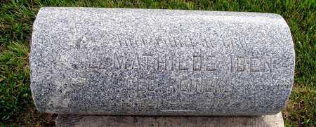 IBEN, L. MATHILDE - Ida County, Iowa | L. MATHILDE IBEN