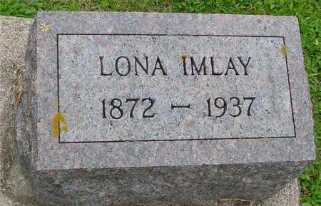IMLAY, LONA - Ida County, Iowa   LONA IMLAY
