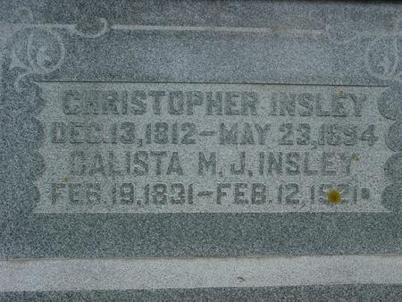 INSLEY, CHRISTOPHER - Ida County, Iowa | CHRISTOPHER INSLEY