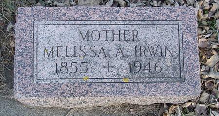 IRWIN, MELISSA A. - Ida County, Iowa | MELISSA A. IRWIN