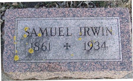 IRWIN, SAMUEL - Ida County, Iowa | SAMUEL IRWIN