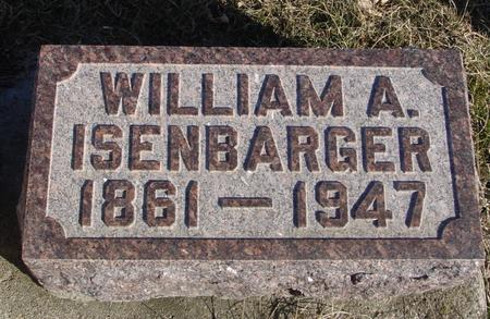 ISENBARGER, WILLIAM A. - Ida County, Iowa | WILLIAM A. ISENBARGER