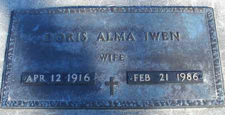 IWEN, DORIS ALMA - Ida County, Iowa | DORIS ALMA IWEN