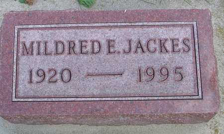 JACKES, MILDRED E. - Ida County, Iowa | MILDRED E. JACKES