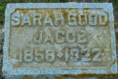 GOOD JACOB, SARAH - Ida County, Iowa | SARAH GOOD JACOB