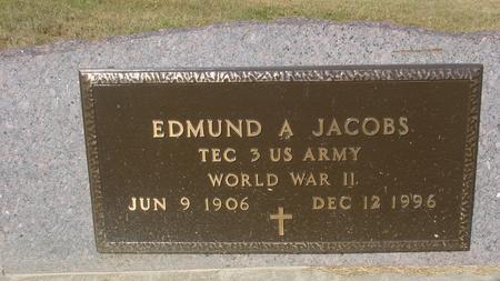 JACOBS, EDMUND A. - Ida County, Iowa | EDMUND A. JACOBS