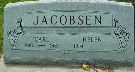 JACOBSEN, CARL & HELEN ETTA - Ida County, Iowa | CARL & HELEN ETTA JACOBSEN