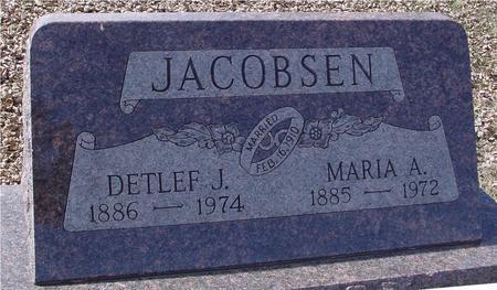 JACOBSEN, DETLEF & MARIA - Ida County, Iowa | DETLEF & MARIA JACOBSEN