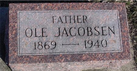 JACOBSEN, OLE - Ida County, Iowa   OLE JACOBSEN