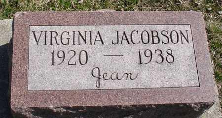 JACOBSON, VIRGINIA - Ida County, Iowa   VIRGINIA JACOBSON