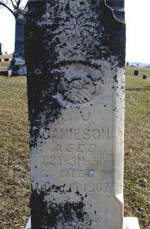 JAMIESON, R. J. - Ida County, Iowa   R. J. JAMIESON