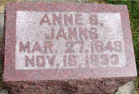 JANNS, ANNE S. - Ida County, Iowa | ANNE S. JANNS