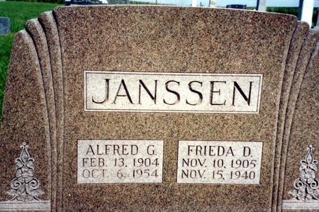 JANSSEN, ALFRED & FRIEDA - Ida County, Iowa | ALFRED & FRIEDA JANSSEN