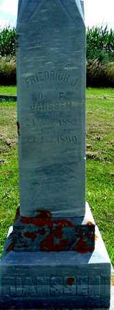 JANSSEN, FRIEDRICH J. - Ida County, Iowa | FRIEDRICH J. JANSSEN