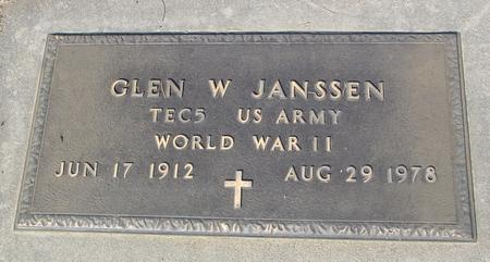 JANSSEN, GLEN W. - Ida County, Iowa | GLEN W. JANSSEN
