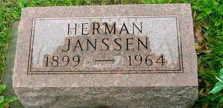JANSSEN, HERMAN - Ida County, Iowa   HERMAN JANSSEN
