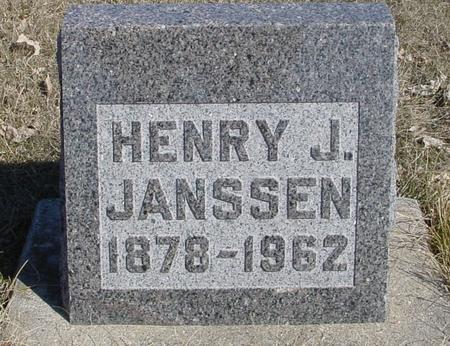 JANSSEN, HENRY J. - Ida County, Iowa | HENRY J. JANSSEN
