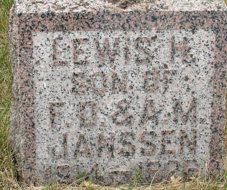JANSSEN, LEWIS H. - Ida County, Iowa | LEWIS H. JANSSEN
