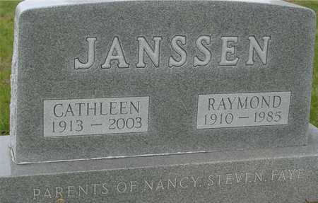 JANSSEN, RAY & CATHLEEN - Ida County, Iowa | RAY & CATHLEEN JANSSEN