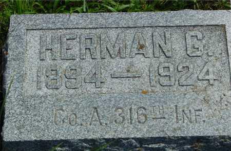 JENSEN, HERMAN G. - Ida County, Iowa   HERMAN G. JENSEN