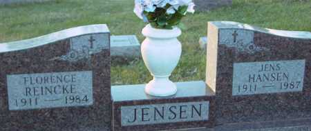 JENSEN, JENS & FLORENCE - Ida County, Iowa | JENS & FLORENCE JENSEN