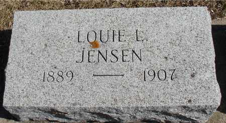JENSEN, LOUIE L. - Ida County, Iowa | LOUIE L. JENSEN