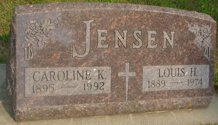 JENSEN, LOUIS H. & CAROLINE - Ida County, Iowa | LOUIS H. & CAROLINE JENSEN