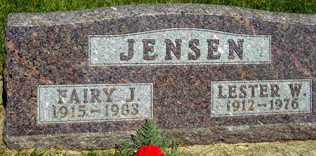 JENSEN, LESTER & FAIRY - Ida County, Iowa | LESTER & FAIRY JENSEN