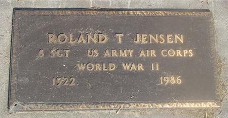 JENSEN, ROLAND T. - Ida County, Iowa | ROLAND T. JENSEN