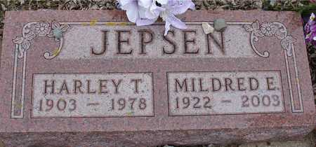 JEPSEN, HARLEY & MILDRED - Ida County, Iowa   HARLEY & MILDRED JEPSEN