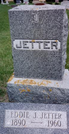 JETTER, EDDIE  J. - Ida County, Iowa   EDDIE  J. JETTER