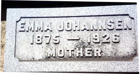 JOHANNSEN, EMMA - Ida County, Iowa   EMMA JOHANNSEN