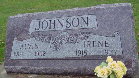 JOHNSON, ALVIN & IRENE - Ida County, Iowa   ALVIN & IRENE JOHNSON