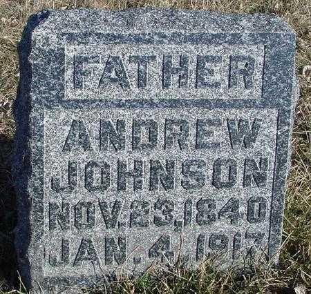 JOHNSON, ANDREW - Ida County, Iowa   ANDREW JOHNSON