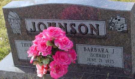 SCHMIDT JOHNSON, BARBARA - Ida County, Iowa   BARBARA SCHMIDT JOHNSON