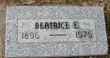 JOHNSON, BEATRICE E. - Ida County, Iowa | BEATRICE E. JOHNSON
