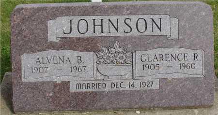 JOHNSON, CLARENCE R. - Ida County, Iowa   CLARENCE R. JOHNSON