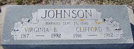 JOHNSON, CLIFFORD & VIRGINIA - Ida County, Iowa   CLIFFORD & VIRGINIA JOHNSON