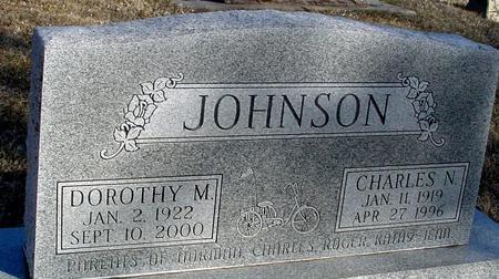 JOHNSON, CHARLES & DOROTHY - Ida County, Iowa   CHARLES & DOROTHY JOHNSON