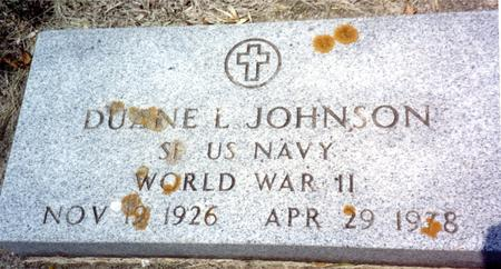 JOHNSON, DUANE L. - Ida County, Iowa | DUANE L. JOHNSON